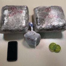 Συνελήφθησαν δύο άτομα στην Κοζάνη για κατοχή και διακίνηση ναρκωτικών ουσιών – Κατασχέθηκαν 2 κιλά και 255  γραμμάρια ακατέργαστης κάνναβης και 2 κινητά τηλέφωνα (Φωτογραφία)