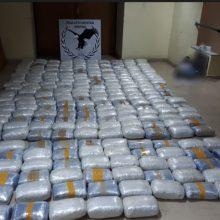 Περισσότερα από 270 κιλά ακατέργαστης κάνναβης κατασχέθηκαν στο πλαίσιο οργανωμένης επιχείρησης της Ομάδας Δίωξης Ναρκωτικών του Τμήματος Ασφάλειας Κομοτηνής