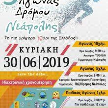 5ος Αγώνας Δρόμου Νεάπολης Κοζάνης – Το πιο γρήγορο Δεκάρι της Ελλάδας