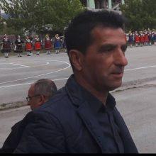 H Κοινότητα Ρυμνίου Κοζάνης, την Κυριακή το πρωί, γέμισε από φίλους, συντρόφους και  μαθητές του αειμνήστου Νίκου Αρβανίτη, στο ετήσιο μνημόσυνο