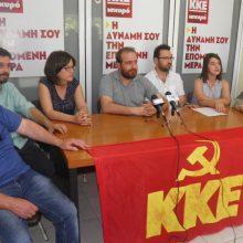 "kozan.gr: Παρουσιάστηκαν οι υποψήφιοι βουλευτές του ΚΚΕ Κοζάνης: ""Απευθυνόμαστε σε όσους νιώθουν αριστεροί, προοδευτικοί και Δημοκράτες και δεν ξεχάσαν τις αξίες και τα ιδανικά τους""  (Βίντεο)"