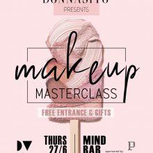 Tο 1ο Μakeup Masterclass by Donnasito στην Kοζάνη την Πέμπτη 27 Ιουνίου