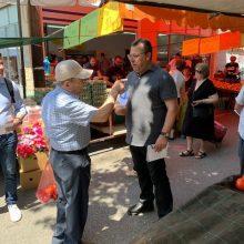 Τη λαϊκή αγορά της Κοζάνης επισκέφθηκε ο υποψήφιος βουλευτής της Νέας Δημοκρατίας Χρόνης Ακριτίδης (Φωτογραφίες)