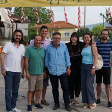 Την Αιανή και το Πρωτοχώρι  επισκέφθηκε το Σάββατο 22/6 o υποψήφιος βουλευτής της Π.Ε. Κοζάνης με το ΚΙΝ.ΑΛ. Τσιλφίδης Αναστάσιος