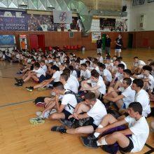 kozan.gr: Υπό την καθοδήγηση του θρύλου του ελληνικού μπάσκετ Παν. Γιαννάκη ξεκίνησε σήμερα Δευτέρα 24/6 το Basketball Camp που διοργανώνει η ΔΕΗ (Φωτογραφίες & Bίντεο)