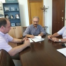 kozan.gr: Υπεγράφη σήμερα Δευτέρα 24/6 η σύμβαση του έργου για τον εξοπλισμότωνΔιυλιστηρίωντης ΔΕΥΑ Εορδαίας