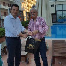 Στις εκδηλώσεις τιμής και μνήμης στον Ρήγα Φεραίου στην Χίο βρέθηκε το περασμένο Σαββατοκύριακο 23 και 24 Ιουνίου ο Δήμαρχος Βοϊου Δημήτριος Λαμπρόπουλος