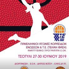 Τελική φάση Πανελληνίων Αγώνων Κορασίδων Ενώσεων & Τ.Ε, στις 27 Ιουνίου, στο Τσοτύλι του Δήμου Βοΐου