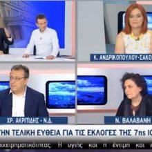 Χρόνης Ακριτίδης στην ΕΡΤ 1:  «Στην Κοζάνη δεν έχουμε δει ακόμα την ανάπτυξη, δεν έχει έρθει» (Βίντεο)