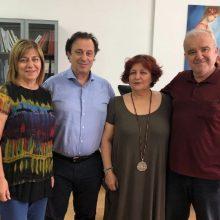 Επίσκεψη του Θέμη Μουμουλίδη στο τμήμα Μαιευτικής στην Πτολεμαΐδα