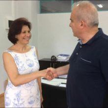Το τμήμα Μαιευτικής του Πανεπιστημίου Δυτικής Μακεδονίας στην Πτολεμαΐδα, επισκέφτηκε η υποψήφια Βουλευτής της ΝΔ Παρασκευή Βρυζίδου