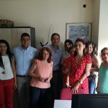 Υπηρεσίες και χωριά της Κοζάνης επισκέφτηκε, χθες Τρίτη 25/6,  ο υποψήφιος βουλευτής  της Νέας Δημοκρατίας Στάθης  Κωνσταντινίδης  (Φωτογραφίες)