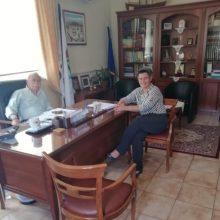 Επίσκεψη της υποψηφίας Βουλευτή Ν. Κοζάνης με τη ΝΔ, Ευλαμπίας Πρώϊου στο δημαρχείο Βοΐου