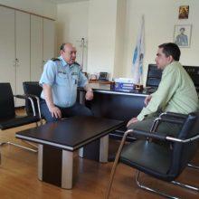 Επίσκεψη του υποψηφίου βουλευτή ΣΥΡΙΖΑ Ν.Κοζανης Γιάννη Θεοφύλακτου στην Περιφέρεια Δυτικής Μακεδονίας και στη Γενική Αστυνομική Διεύθυνση Κοζάνης