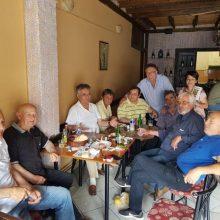 Στην επαρχία Βοίου βρέθηκε σήμερα το πρωί ο υποψήφιος βουλευτής της Π.Ε. Κοζάνης με το ΚΙΝΑΛ-ΠΑΣΟΚ Τσιλφίδης Τάσος