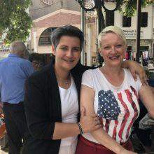 Επίσκεψη της υπ. Βουλευτή της ΝΔ Ευλαμπίας (Εύη) Πρώϊου – Βαρζή, στη λαϊκή αγορά και στα καταστήματα της Σιάτιστας