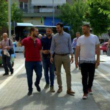 Η επίσκεψη του Γραμματέα της Κεντρικής Επιτροπής του Κινήματος Αλλαγής στην Κοζάνη (Φωτογραφίες)