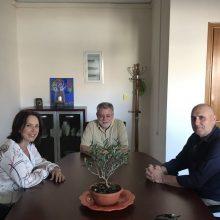 Επíσκεψη της υποψήφιας βουλευτή του ΣΥΡΙΖΑ Π.Ε Κοζάνης Καλλιόπης Βέττα στην Περιφερειακή Διεύθυνση Πρωτοβάθμιας και Δευτεροβάθμιας Εκπαίδευσης Δυτικής Μακεδονίας και στο Κ.Ε.Σ.Σ.Υ Κοζάνης (Φωτογραφίες)