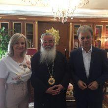 Γιώργος Αμανατίδης: Σειρά συναντήσεων με επίκεντρο ανοιχτά ζητήματα