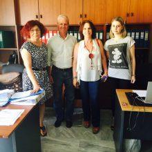 Σειρά επισκέψεων πραγματοποίησε η  υποψήφια Βουλευτής ΣΥΡΙΖΑ Π.Ε Κοζανης Καλλιόπη Βέττα  σε φορείς και υπηρεσίες υπηρεσίες του Δήμου Σερβίων και Κοζάνης (Δελτίο τύπου)