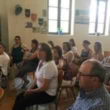 """Σεμινάριο """"Πρώτων Βοηθειών"""" πραγματοποιήθηκε, την Παρασκευή 28/6, στη στέγη του Πολιτιστικού Συλλόγου Καπνοχωρίου"""