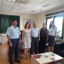 """Στέλλα Θεοχάρη στο Αστυνομικό Μέγαρο Κοζάνης: """"Η κυβέρνηση του ΣΥΡΙΖΑ αποκατέστησε μια μεγάλη αδικία στους ενστόλους"""" – Περιοδεία σε χωριά του δήμου Σερβίων"""