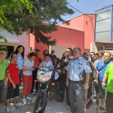 Η Τοπική Διοίκηση Κοζάνης της Διεθνούς Ένωσης Αστυνομικών (IPA) επισκέφτηκε το Ειδικό Εργαστήριο Κοζάνης