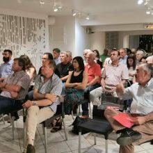 Θέμης Μουμουλίδης στην πολιτική του συγκέντρωση: «Ο καθένας και η καθεμιά από εμάς να πείσουμε έναν ακόμη ότι είναι εφικτή η ανατροπή»
