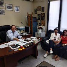 Στα γραφεία του Υπεραστικού ΚΤΕΛ Ν.Κοζάνης βρέθηκε η υποψήφια Βουλευτής της Νέας Δημοκρατίας του Ν.Κοζάνης, Ευλαμπία Πρώϊου (Δελτίο τύπου)
