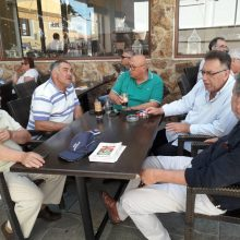 Tα Σέρβια επισκέφθηκε σήμερα το πρωί, ο υποψήφιος βουλευτής με το ΚΙΝΑΛ-ΠΑΣΟΚ της Π.Ε. Κοζάνης Τάσος Τσιλφίδης
