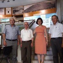 Στο Ιστορικό, Λαογραφικό και Φυσικής Ιστορίας Μουσείο Κοζάνης βρέθηκε η υποψήφια Βουλευτής της ΝΔ Παρασκευή Βρυζίδου