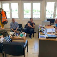 Το λιγνιτικό σταθμό του ΑΗΣ Καρδιάς επισκέφθηκε σήμερα το πρωί (Τρίτη 2/7) ο υποψήφιος βουλευτής της Νέας Δημοκρατίας Χρόνης Ακριτίδης