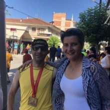 Στον 5ο Αγώνα Δρόμου Νεάπολης Κοζάνης 10100 μ παρευρέθηκε η υποψήφια Βουλευτής της Νέας Δημοκρατίας του Ν.Κοζάνης, Ευλαμπία Πρώϊου