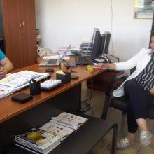Στις σύγχρονες εγκαταστάσεις του Αγροτικού Συνεταιρισμού «Δήμητρα» βρέθηκε η υποψήφια Βουλευτής της Νέας Δημοκρατίας του Ν. Κοζάνης, Ευλαμπία Πρώϊου