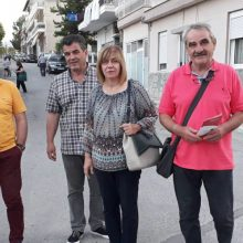 Επισκέψεις- συναντήσεις της υποψήφιας βουλεύτριας του ΣΥΡΙΖΑ-ΠΡΟΟΔΕΥΤΙΚΗ ΣΥΜΜΑΧΙΑ Π.Ε. Κοζάνης Γούλιαρου Θεοδώρας