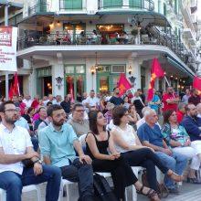 kozan.gr: Πραγματοποιήθηκε το απόγευμα της Τετάρτηε 3/7, η προεκλογική συγκέντρωση του ΚΚΕ στην κεντρική πλατεία Κοζάνης (Φωτογραφίες & Βίντεο)