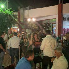Σε συγκέντρωση χθες Τετάρτη 3/7, με συμμαθητές και συναποφοίτους, ο υποψήφιος βουλευτής της ΝΔ Χρόνης Ακριτίδης