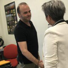 Στην Ζώνη Ενεργού Πολεοδομίας (ΖΕΠ) Κοζάνης βρέθηκε η υποψήφια βουλευτής της ΝΔ Ευλαμπία Πρώϊου.