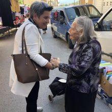 Την λαϊκή αγορά των Σερβίων επισκέφθηκε η υποψήφια βουλευτής της ΝΔ ,κα Ευλαμπία Πρώϊου