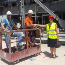Τα Ορυχεία του Λιγνιτικού Κέντρου, τον ΑΗΣ Καρδιάς, Υδροηλεκτρικό Σταθμό Ιλαρίωνα και την υπό κατασκευή Μονάδα 5 επισκέφτηκε η υποψήφια Βουλευτής της ΝΔ Παρασκευή Βρυζίδου