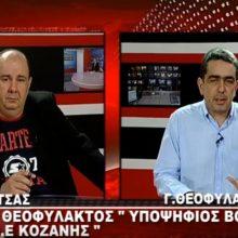 Ο Γιάννης Θεοφύλακτος στο West channel στο δημοσιογράφο Δημήτρη Βακρατσά (Βίντεο)