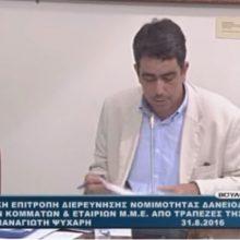 Σημαντικά αποσπάσματα από τη συμμετοχή του Γιάννη Θεοφύλακτου στις εξεταστικές επιτροπές της Βουλής Μέρος Β' (Bίντεο)