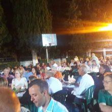 Με πολύ κέφι η λαϊκοδημοτική βραδιά του Μ.Σ.Π. Κήπου Κοζάνης το βράδυ του Σαββάτου 6 Ιουλίου (Φωτογραφίες & Βίντεο)