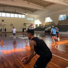 Φωτογραφίες από την προετοιμασία της Εθνικής Ομάδας Μπάσκετ U16 στο Κλειστό του Βελβεντού