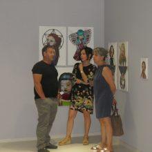 kozan.gr: Πραγματοποιήθηκαν το απόγευμα της Τετάρτης 10/7, στο νέο ιδρυθέν Μουσείο Τεχνών στην Κοζάνη, τα εγκαίνια της έκθεσης ¨πορφυρή σιωπή¨, της εικαστικού Χριστίνας Τζάνη (Φωτογραφίες & Βίντεο)