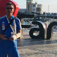 Ο 67χρονος από την Πτολεμαΐδα που με σπασμένο χέρι νίκησε τη Βραζιλία