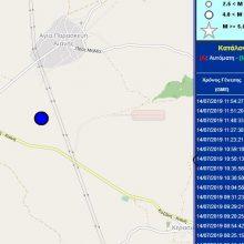 kozan.gr: Η αναθεώρηση και τα νέα στοιχεία του Γεωδυναμικού Ινστιτούτου δείχνουν το μέγεθος του σεισμού στα 4,6 Ρίχτερ και το επίκεντρο σε περιοχή μεταξύ Ροδιανής κι Αγίας Παρασκευής