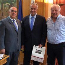 Παπαδόπουλος & Πατσιούρας στον Υπουργό Αγροτικής Ανάπτυξης Μάκη Βορίδη για την επίσπευση της συμφωνίας – υπογραφής για εξαγωγή Κρόκου μεταξύ Ελλάδας και Κίνας
