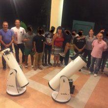 Βραδιά αστροπαρατήρησης για τους εφήβους της Προσωρινής Δομής Φιλοξενίας Ασυνόδευτων Ανηλίκων