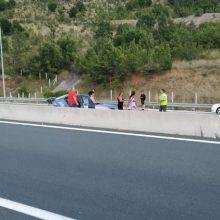 Τροχαίο ατύχημα στην Εγνατία οδό, απο Γρεβενά προς Κοζάνη (Φωτογραφίες)